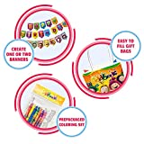 ODDBODS Birthday Party Banner and Favor Bags with