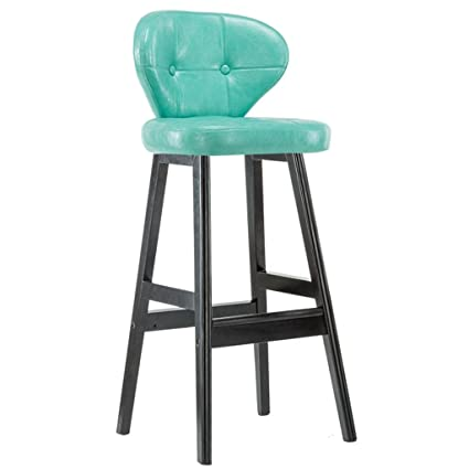 Amazon Com Gzd Bar Stool Retro Kitchen Stools With Solid
