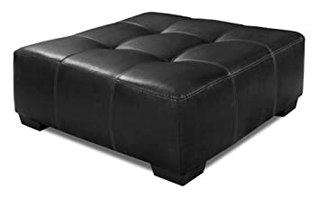 Peachy Amazon Com Chelsea Home Ottoman In Jefferson Black Kitchen Caraccident5 Cool Chair Designs And Ideas Caraccident5Info