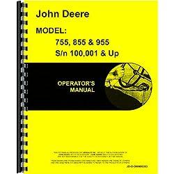John Deere 855 Tractor Operators Manual (100,001 &