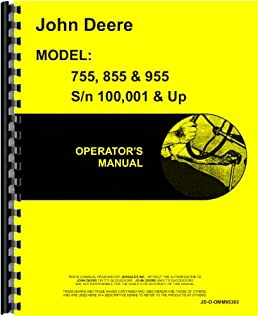 51XwBvL9ZkL._SX258_BO1204203200_ amazon com john deere 855 tractor operators manual (100,001 & up