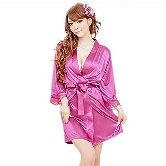 Amazon.com: Pijama de mujer pijama camisón + tanga de encaje ...