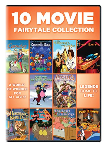 10 Movie Fairytale Collection [DVD] [Region 1] [US Import] [NTSC]