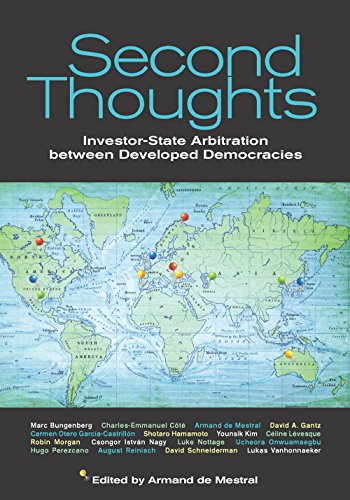 Second Thoughts: Investor State Arbitration between Developed Democracies