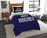 The Northwest Co mpany MLB Colorado Rockies Grandslam Twin 2-piece Comforter Set