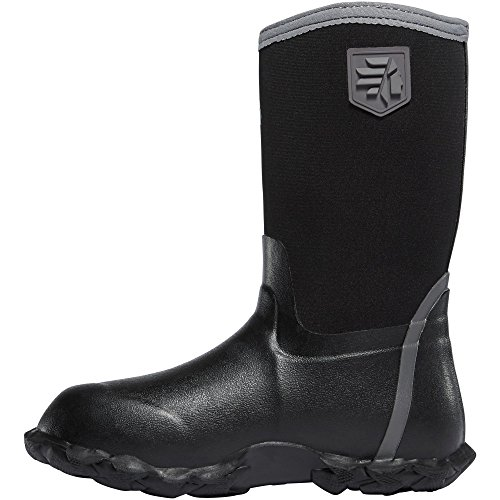 Lacrosse Lil' Alpha Lite Black 5.0MM (610241) | Waterproof | Insulated Modern Comfortable Hunting Combat Boot Best for Mud, Snow