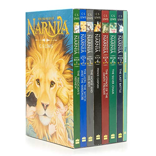 Box Chronicles (The Chronicles of Narnia 8-Book Box Set + Trivia Book)