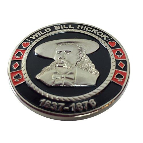 Wild Bill - Dead Man's hand Poker Weight by Poker Weight