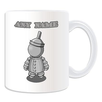 De regalo con mensaje personalizado - taza Hombre de Hojalata (molde para hacer una diseño