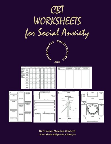 Amazon.com: CBT WORKSHEETS for SOCIAL ANXIETY: CBT WORKSHEETS for ...