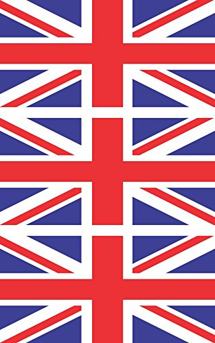 3 - British Flag Hard Hat Biker Helmet Stickers Decal