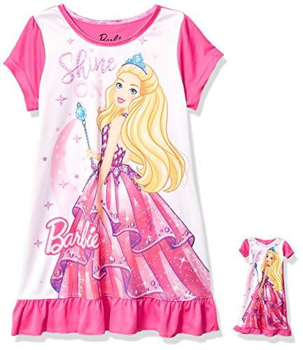AME Sleepwear Girls' Little Barbie 18