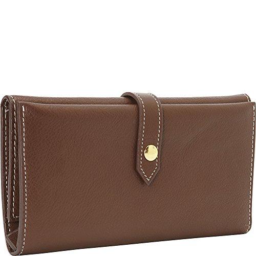 Clava Tri-Fold Women's Wallet (Brown)