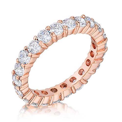 18 Ct Gold Eternity Rings - 2