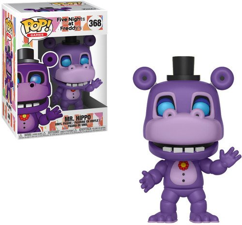 Funko Pop! Games: Mr. Hippo Collectible Figure, Multicolor by Funko