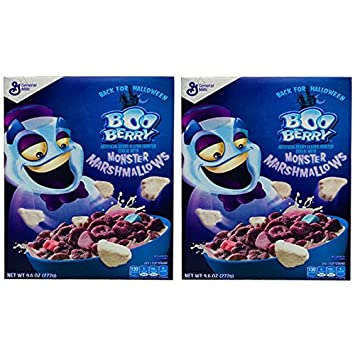 Amazon.com: Boo Berry Halloween Cereal With Monster Marshmallows ...