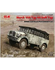 ICM 1/35 Horch 108 Typ 40 WWII German Personnel Car