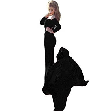 8863fcd3ed83 Chady Sexy Off Shoulder Velvet Long Sleeve Burgundy Mermaid Prom Dress 2018  Long Train Arabic Long