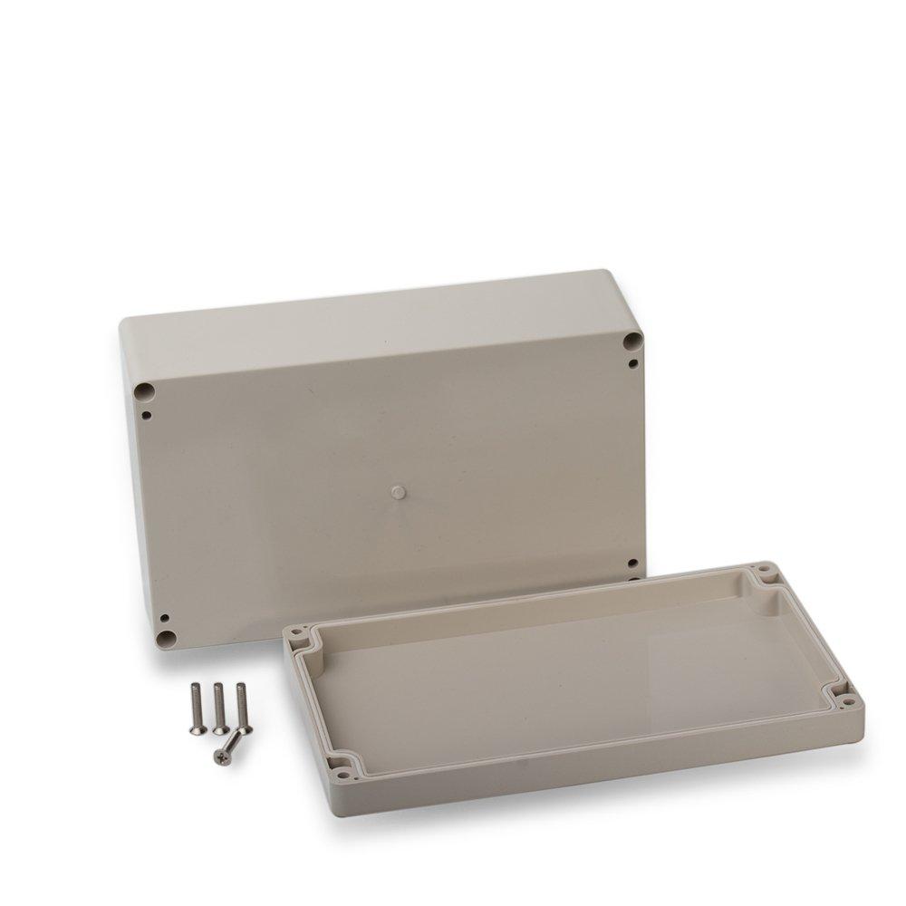 edi-tronic ABS Leergeh/äuse 200x120x56mm Industriegeh/äuse IP66 Kunststoff Geh/äuse Box Kasten