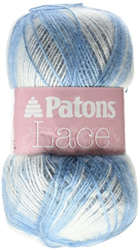 Patons Lace Yarn, Porcelain