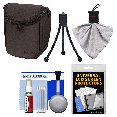 Sony LCS-BBF Soft Digital Camera Case (Black) with Accessory Kit for Alpha NEX-3N, NEX-5N, NEX-5R, NEX-6, NEX-7
