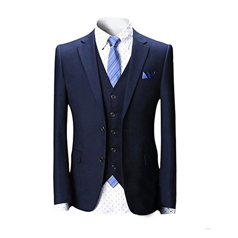 結婚式におすすめのストライプスーツ