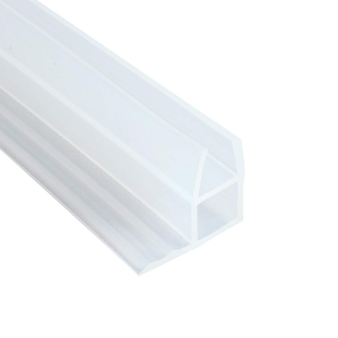 sourcingmap 78.7-inch Frameless Window Shower Door Seal Clear for 6mm (Approx 1/4-inch) Glass a17030800ux0610