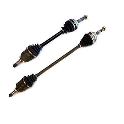 DTA TO87838784A front Left Right Pair - 2 New Premium CV Axles (Drive Axle Assembly) Fits 1993-2002 Geo Prizm; Toyota Corolla. Fits Either ABS or None ABS Model: Automotive