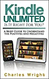If you're considering signing up for Amazon's Kindle Unlimited program, READ THIS 11-PAGE BOOKLET first. Then you will be able to make a wise decision regarding whether or not Kindle Unlimited is right for you.Since we are rapidly shifting from print...