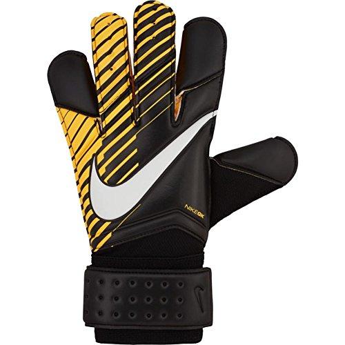 Nike GK Vapor Grip 3 Soccer Goalkeeper Gloves (Sz. 7) Black, Laser Orange