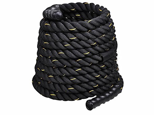 Battle Rope Training Undulation Extremely Workout Stamina for Gain Lean Muscle by DTOFREE (Image #4)
