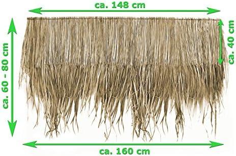 Palmendach 145 cm Palmenwedel Palmenblätter Reetdach Strohdach Schindel 12100