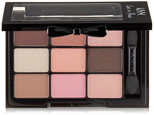 NYX Professional Makeup Love In Paris Eyeshadow Palette, Let