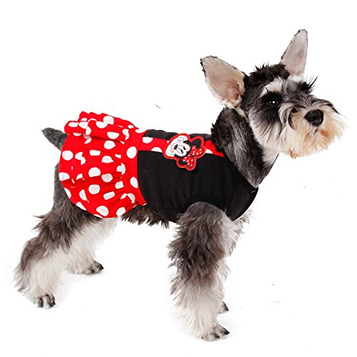 [Speedy Pet Dog Dress Cat Apparel Braces Skirt For Small Pet Red S] (Costumes Braces)