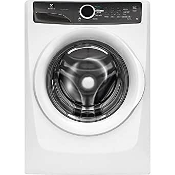 """Electrolux EFLW417SIW 27"""" Energy Star Front Load Washer with 4.3 cu. ft. Capacity LuxCare Wash 20-Minute Fast Wash Cycle Perfect Balance System and Stain Treat: Island"""
