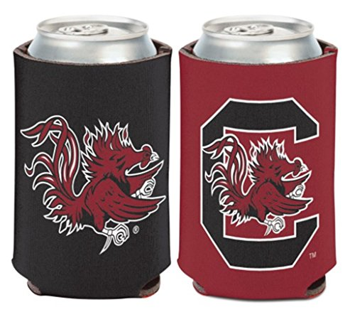 WinCraft NCAA University South Carolina Gamecocks 1 Pack 12 oz. 2-Sided Can Cooler