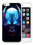 iPhone 6 Plus Case,Balanar Night Stalker Dota White Cover Fit For iPhone 6S Plus 5.5 Inches,TPU Case