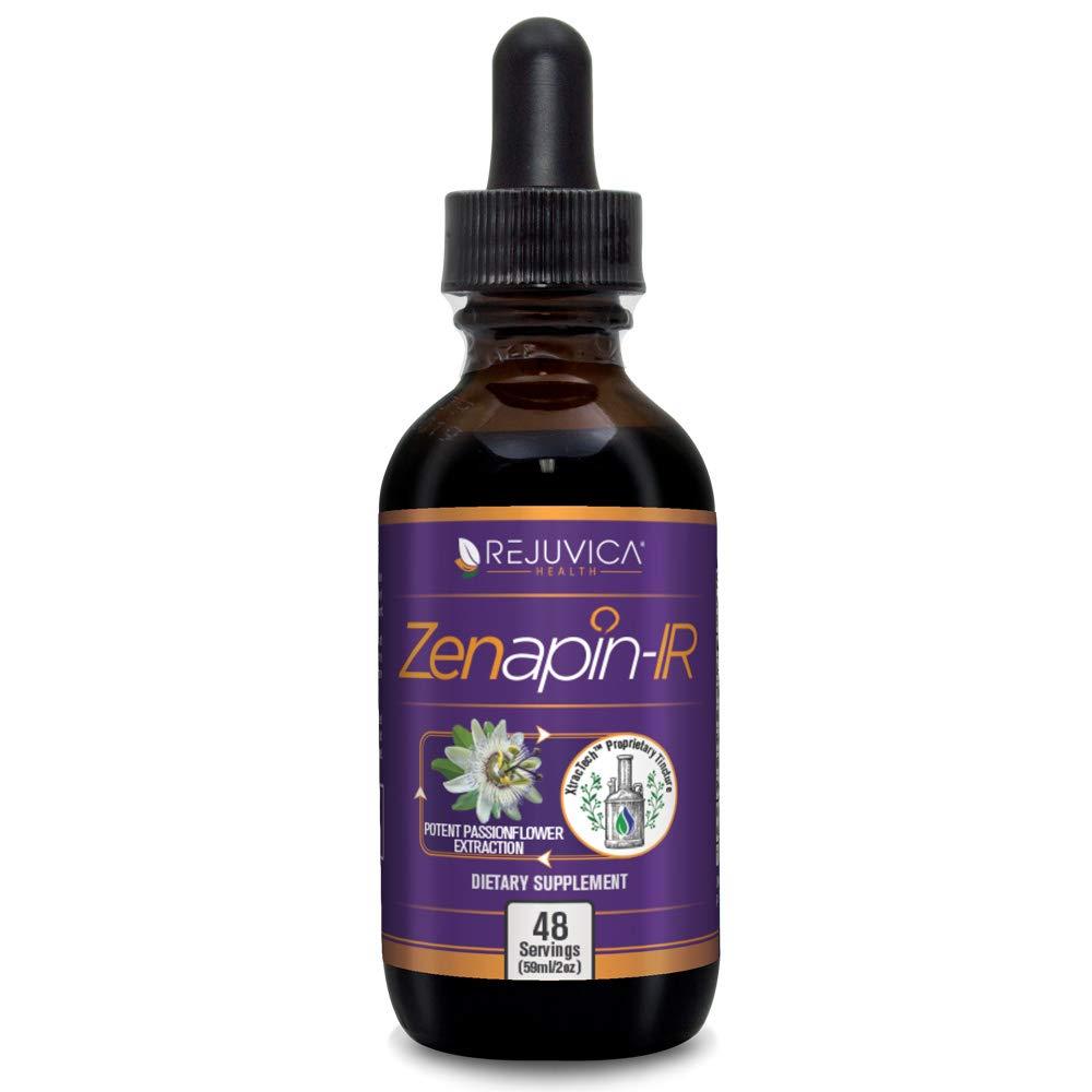 Zenapin IR - All-Natural Liquid Calming Remedy that Works Fast! | 2X Absorption | Kava Kava, Ashwagandha, Passionflower, B-Vitamins & More