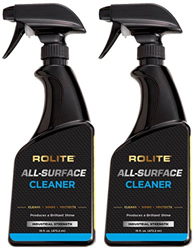 Rolite All-Surface Cleaner (16 fl. oz.) Instantly Cleans TV, Plasma, LCD, LED, iPad, iPhone, Laptop, MacBook, Computer Monitor, Tablets, GPS 2 Pack