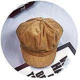 Summer-lavender-Berets Newsboy Cap for Vintage British Striped Beret Painter Hats for Male Octagonal Cap Gorras Bone,Yellow