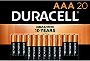 Duracell - CopperTop AAA Alkaline Batteries - Long Lasting, All-Purpose Triple A Battery for Household and Bus