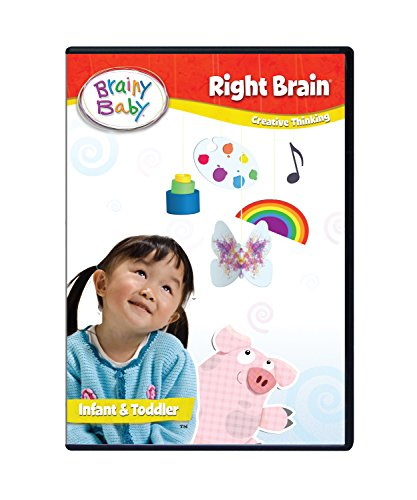 Brainy Baby Right Brain Dvd - Brainy Baby Right Brain DVD Deluxe Edition