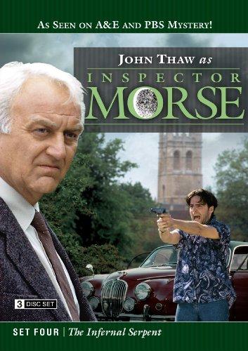 Inspector Morse Set Four: The Infernal Serpent (Morse Dvd Set)