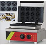Boshi Electronic Instrument 110V/220V NP-5 Stainless Steel 12 pieces mini donut machine Donuts Baker CE Certification