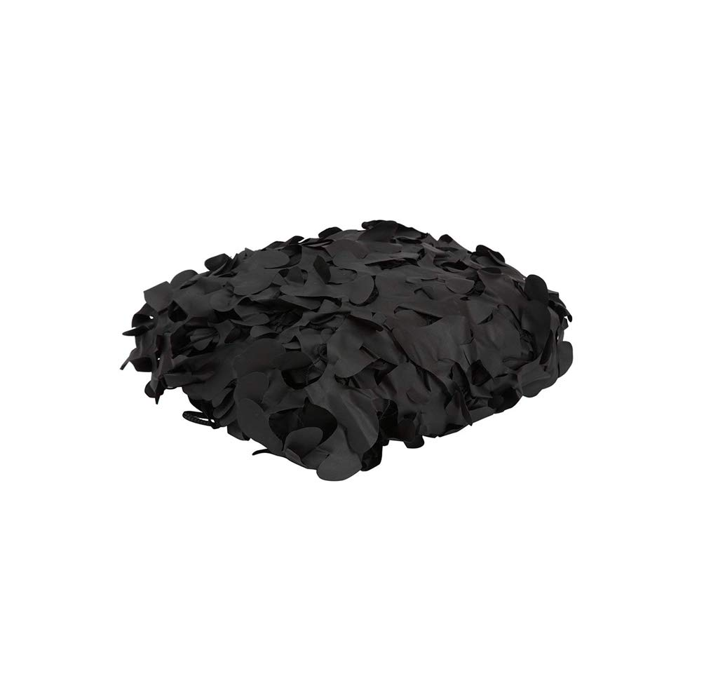 遮光ネット迷彩ネット 迷彩ネット純粋なブラックオックスフォード布ハロウィーンの砂漠キャンプの撮影日焼け止めミリタリーネット/サイズを選択 屋外の日陰の庭に適しています (Size : 10m*10m)  10m*10m