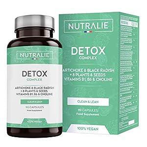 Detox Puissant pour le Foie et Colon | Plan Detox Végétalien pour Perte de Poids | Cleanser pour Éliminer Toxines avec…