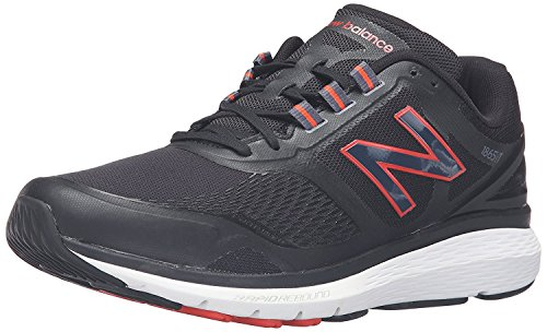 New Balance Mens MW1865v1 Walking Shoe, Negro/Negro, 45 D(M) EU/10.5 D(M) UK