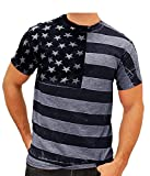 Best Graphics and More Climbing Shoes - COOFANDY Mens USA Flag T-Shirt Patriotic Vintage Short Review