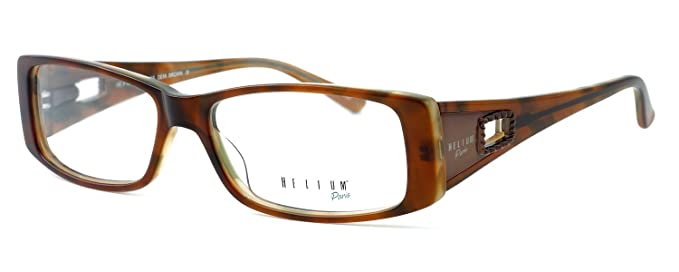 afda79a11e2 Image Unavailable. Image not available for. Color  Helium Paris Designer Optical  Eyeglasses ...
