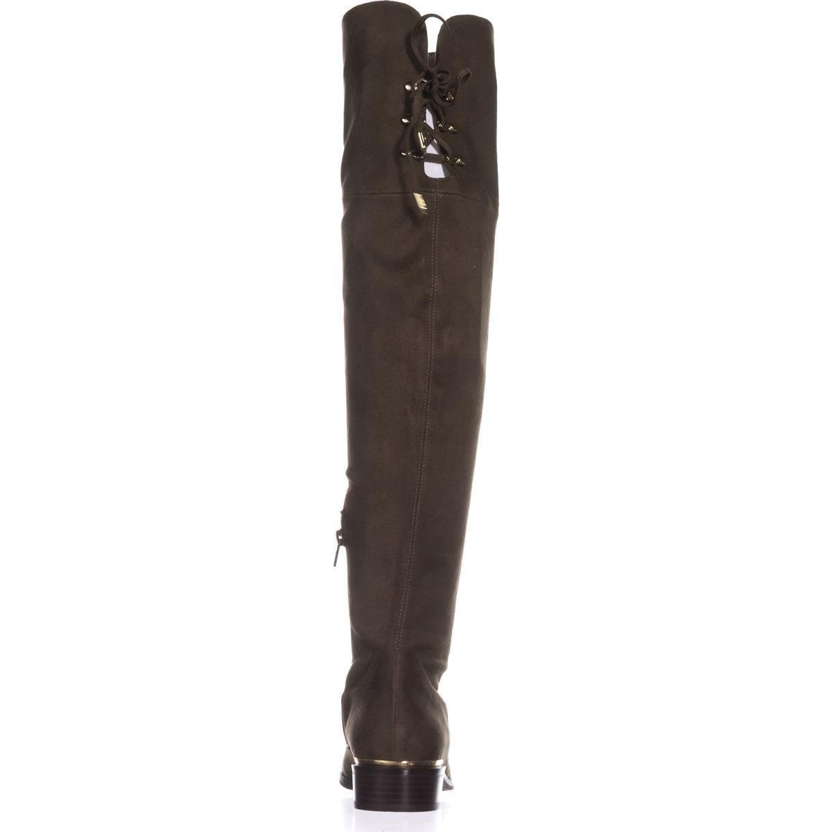 Ivanka Trump Frauen Lnde Geschlossener Zeh Fashion Stiefel Fabric/Super Dark Grün Fabric/Super Stiefel Fine Suede/By Thick 895f7f